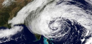 A hurricane View from Space